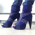 Pour La Victoire studded boots from ksjuwka on Poshmark