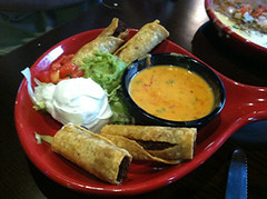 Taquitos, Don Pablo's, Sarasota, FL, Restaurant Review