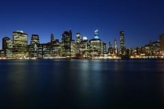 Downtown Manhattan New york city