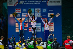 Gould with Bronze, Beerten and Charre win gold at UCI MTB Worlds