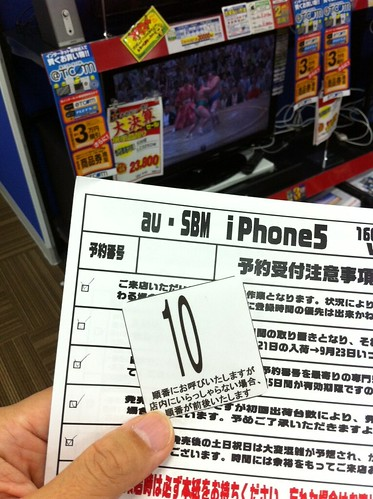 iPhone 5 preserved