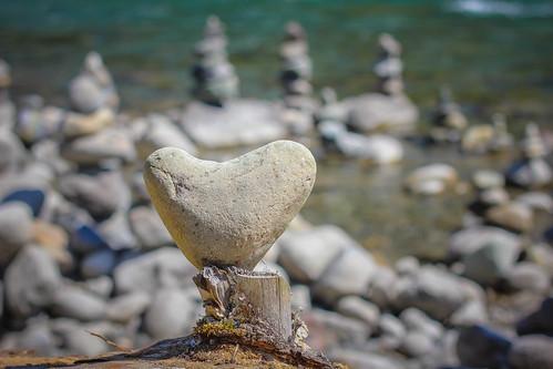 canada beach rock vancouver rocks bc inukshuk chilliwack inuksuit