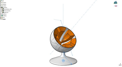 22_Catia Practice_Ball Chair