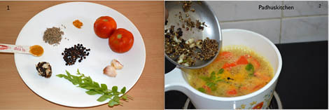 How to prepare pepper rasam