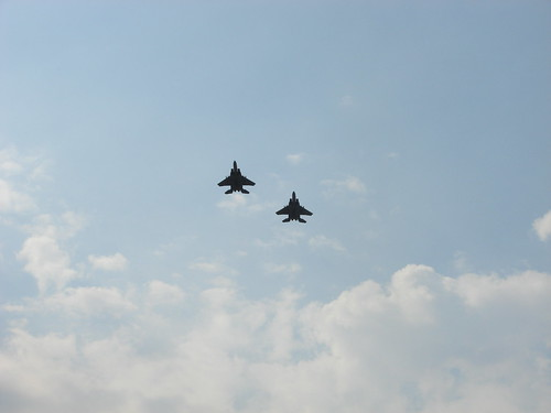 9/15/12 1:15pm 2 jets flying over