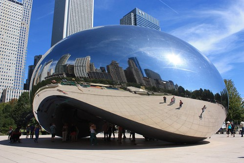 Cloud Gate by Anish Kapoor - Chicago
