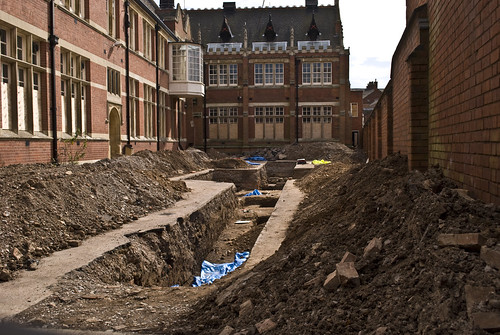 Grey Friars Leicester Richard III dig by Melodysparks (Chris Preedy)