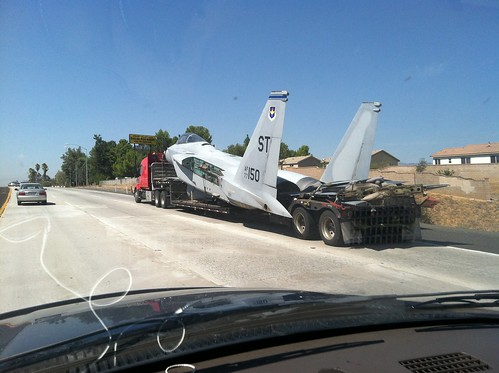 F15 on the freeway