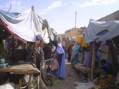 Mercado em Atar, Mauritânia
