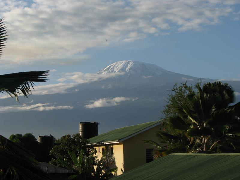 Mt. Kilimanjaro from a distance