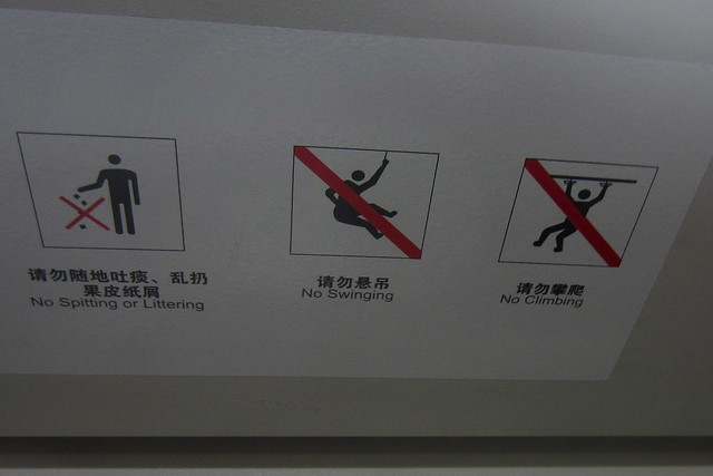 No Swinging, No Climbing