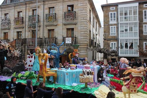 Desfile de carrozas Reinosa 2012