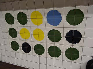 Green Park tiled artwork