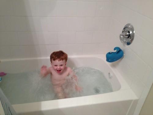 Bathtime, lately