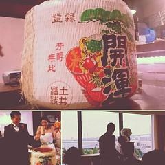 Congratulations. It's the way to go, @kazumasa_kato Happy wedding!