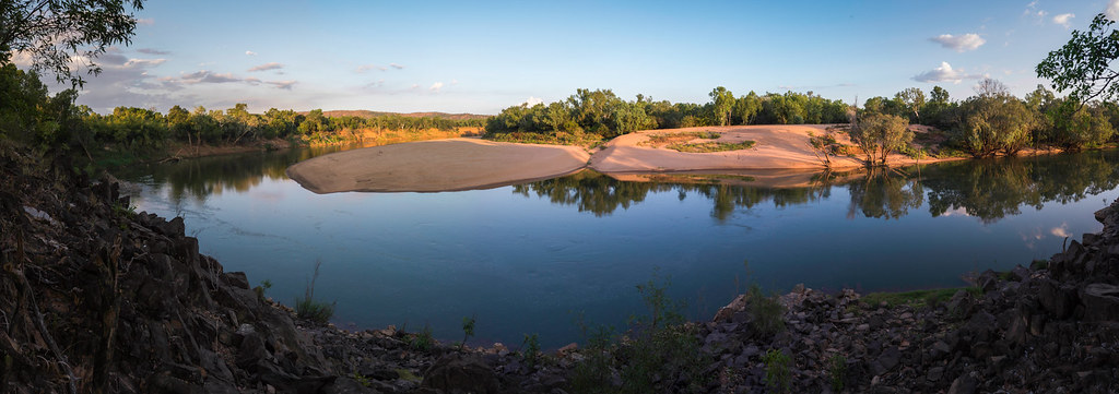 Daly River Sunset Northern Territory Panorama