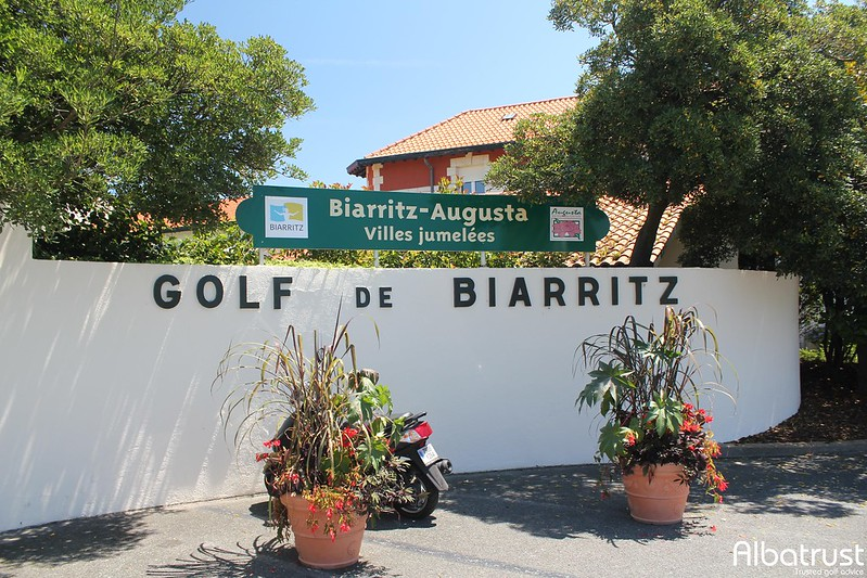 photo du golf Golf Biarritz le Phare - Parking