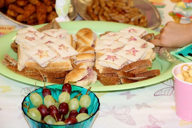 D 5 birthday sandwich butterfly
