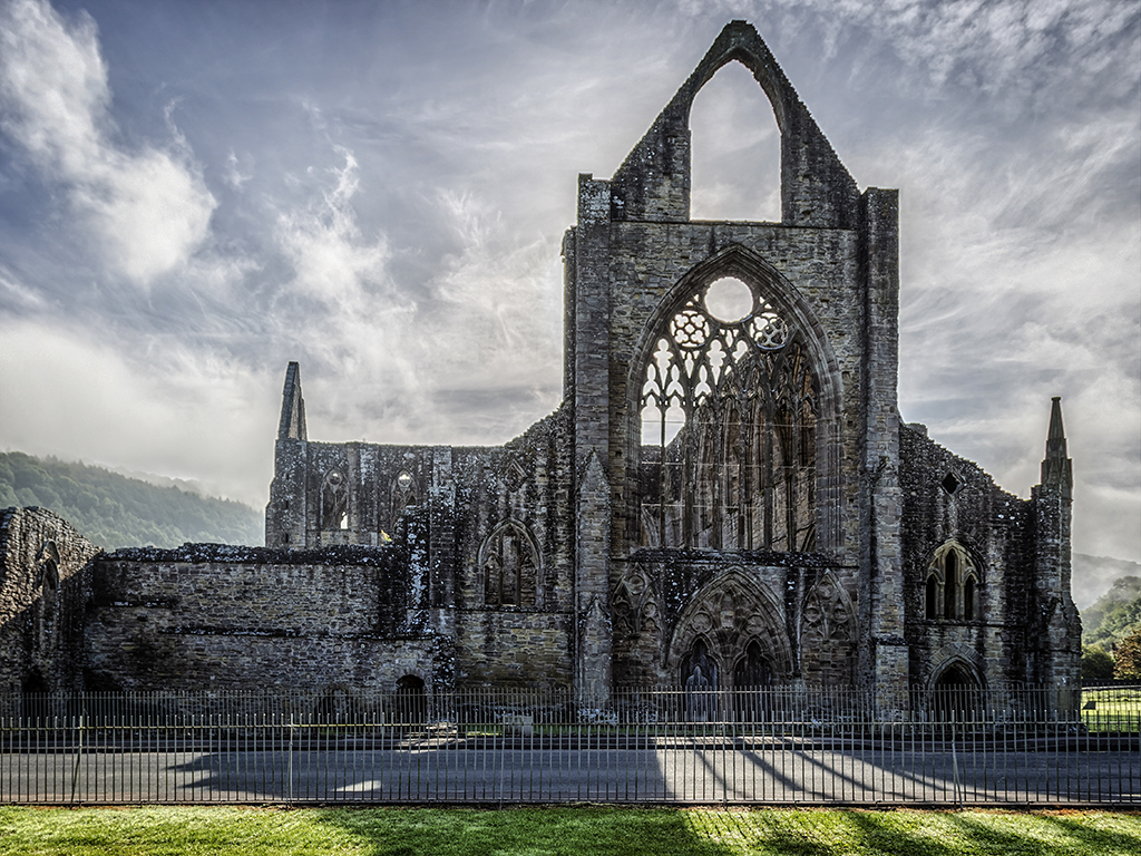 tintern map - monmouthshire  wales