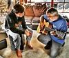 Boy time #guitarlesson #fatherandson