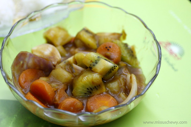 ZESPRI Kiwifruit Japanese Curry 032