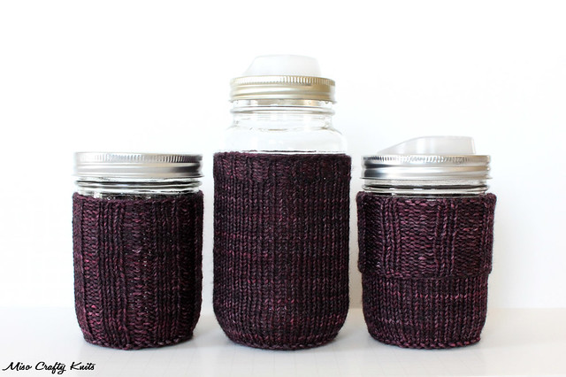 Mason Jar Cozy 3 Ways