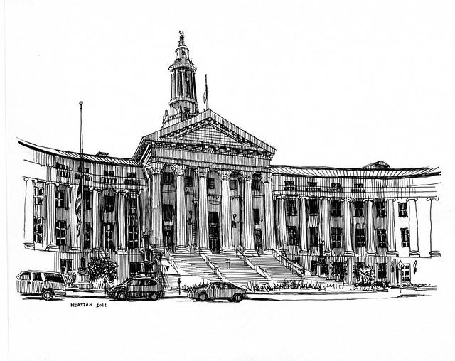 Denver Urban Sketches - SkyscraperPage Forum