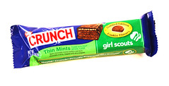 CRUNCH Girl Scouts: Thin Mints