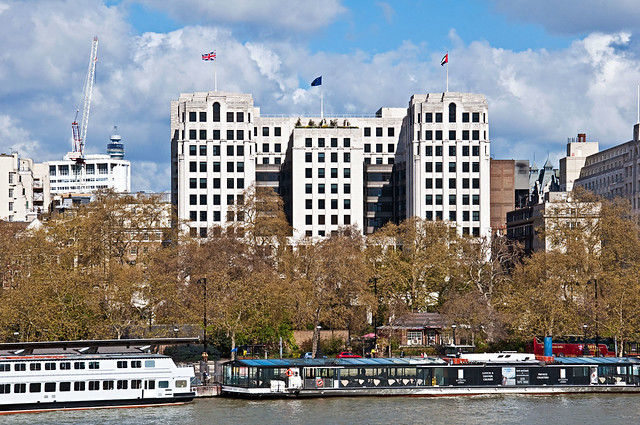 Adelphi Building On London S Victoria Embankment