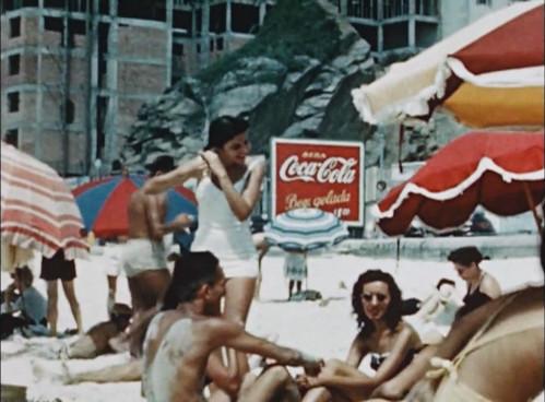 1947-COCA-COLA-MURAL-RIO-DE-JANEIRO-COPACABANA-BEACH-PEDRA-DO-ITANHANGA by roitberg
