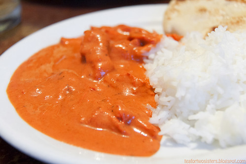 Image result for Butter Chicken on Rice
