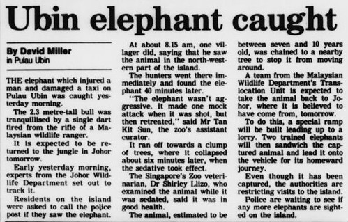 The Straits Times 7 March 1991
