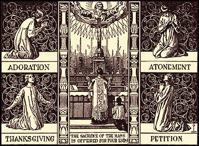 The Four Ends of the Mass