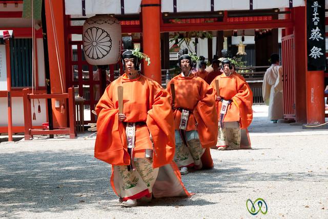 Aoi Matsuri Shinto Festival - Kyoto, Japan