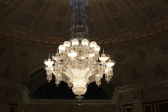 St. George's Hall concert room chandelier