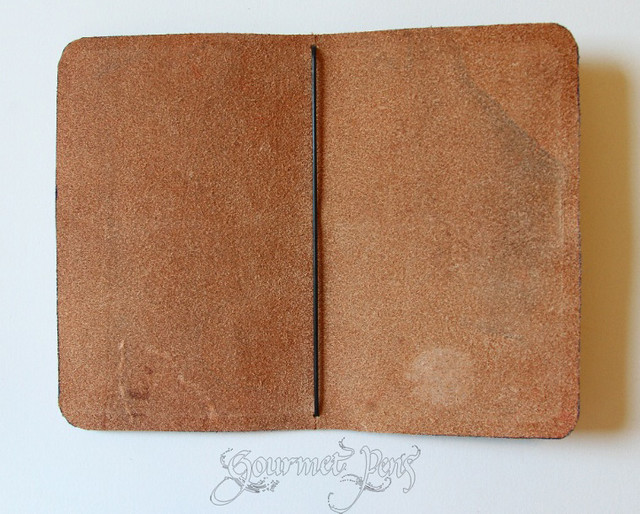 Davis Leatherworks Leather Journal Cover Empty