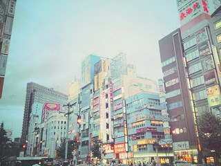 shinjuku at 5 am