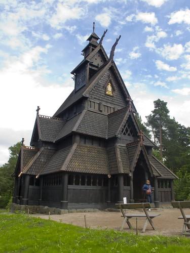 426 Iglesia de Gol en Museo de Oslo