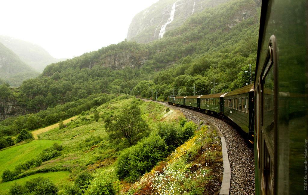 Flam to Myrdal Railway