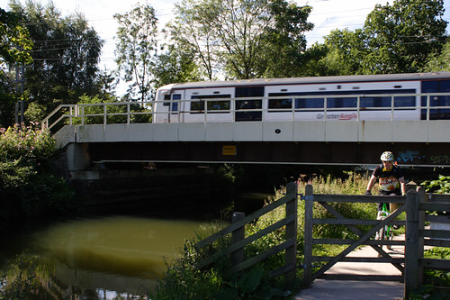 Roydon Rail Bridge, River Stort