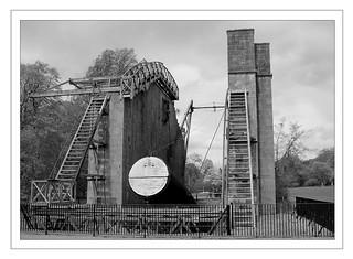 Great historic telescope
