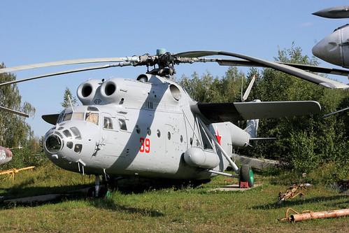 Mil Mi-6VKP 39 red