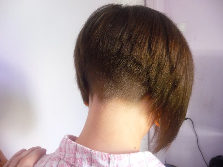 Bob Haircuts Shaved In Back | Bob Hairstyles