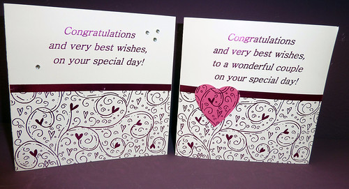 Congratulation on your special day Cards by InspiredByScript.com