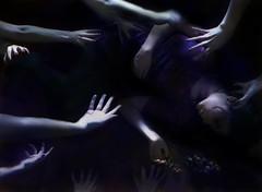 [フリー画像素材] 人物, 女性, ボディーパーツ - 手, 女性 - 横たわる・寝転ぶ ID:201208281400