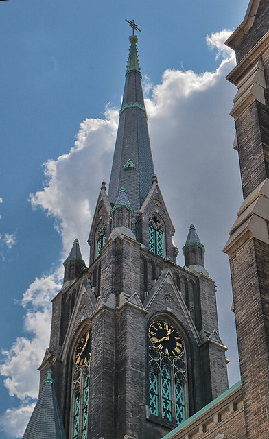 Saint Francis de Sales Oratory, in Saint Louis, Missouri, USA - spire
