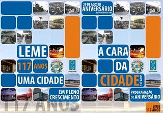 117º Aniversário da cidade de Leme