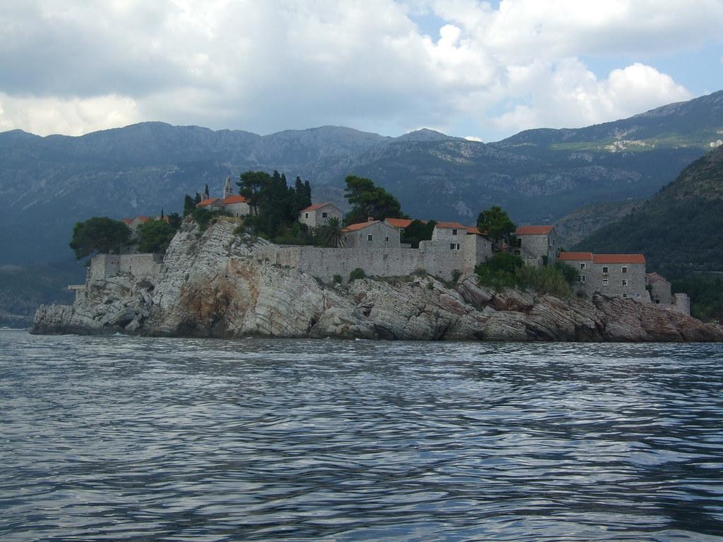Budva, Mali i Zi (Montenegro): Shen Stefan