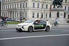 Opel Ampera als Taxi in München