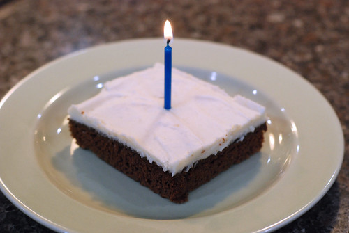 Sour Cream Chocolate Cake with Heavenly Icing